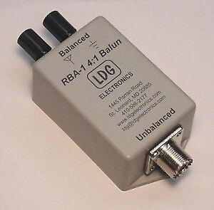 Ldg Electronics Rba41 Remote 4:1 Balun Assembled Voltage Type