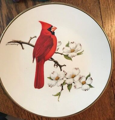 Cardinal North American Songbird Collector Plate By Avon**vintage**collectible