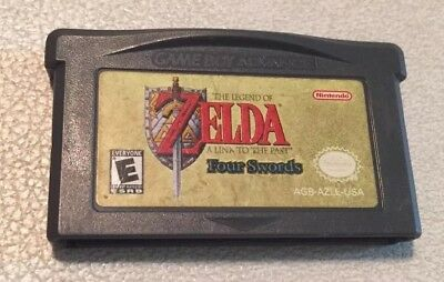 The Legend of Zelda A Link To The Past Four Swords GameBoy Advance Game Boy GBA