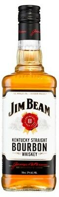 Jim Beam White Label Bourbon 700mL ea - Spirits - Origin Australia