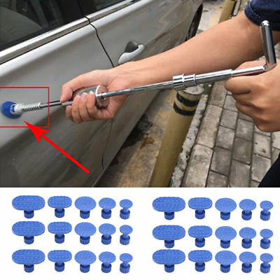 30Pc Auto Body Paintless Dent Repair Hail Removal Tools Glue Puller Tabs Pad
