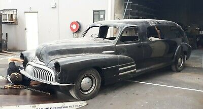 1947 Buick Special Hearse, Holden body, Straight 8, Ratrod,Hotrod,Goth,Vintage,
