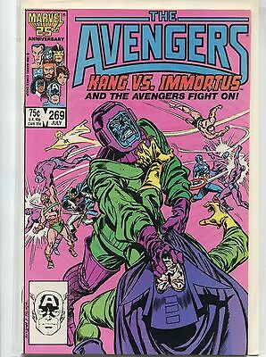 The Avengers #269 (Jul 1986, Marvel), VF/NM