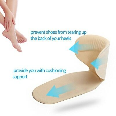 US Silicone High Heel Liner Grip Cushion Shoe Insole Pad Gel Protector Foot Care