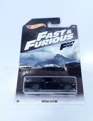 Hot Wheels Nissan Skyline Hako Fast And Furious Jdm New 2018 Fast Five