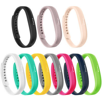 10 Pack Replacement Wristband Bracelet Watch Bands Wrist Strap For Fitbit Flex 2
