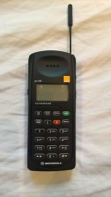 Motorola MR30 Talkhead Mobile Phone 1998 Excellent Working Order Mint Condition