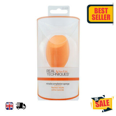 Real Techniques Cosmetic Miracle Complexion Sponge Pack High Quality UK NEW