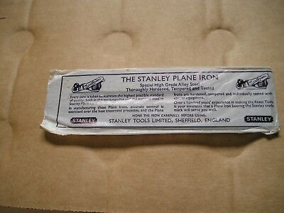 "STANLEY 50mm (2"") BENCH PLANE BLADE"
