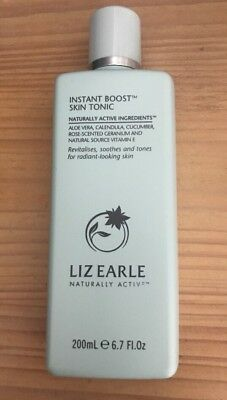Liz Earle Instant Boost Skin Tonic 200ml BN💋