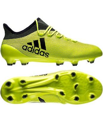 outlet store 2b782 08376 BNWT MENS ADIDAS X17.1 FG FOOTBALL BOOTS UK Size 7.5