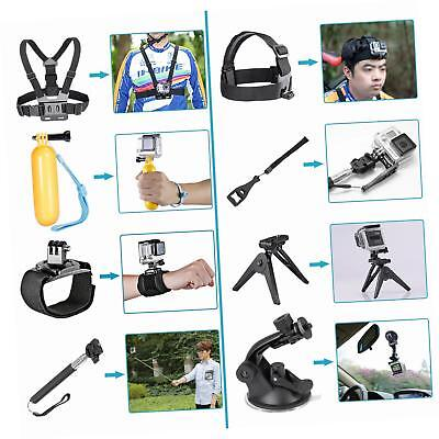 Neewer 21-In-1 Camera Accessory Kit for GoPro Hero Session/5 Hero 1 2 3 3+ 4 5