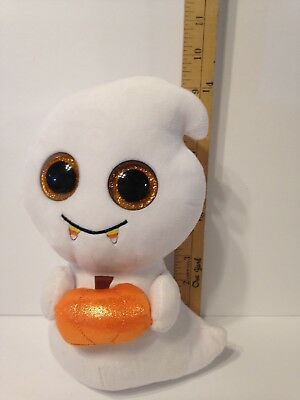 TY Beanie Baby Boo Collection White SCREAM THE GHOST 9