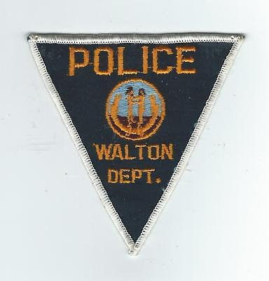 VINTAGE WALTON, KENTUCKY POLICE DEPT. (CHEESE CLOTH BACK) patch