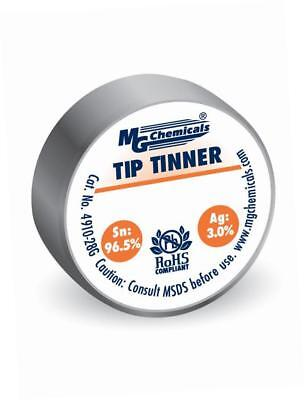 MG Chemicals Lead Free Tip Tinner, (28g) 1 oz container, No Clean Formulation