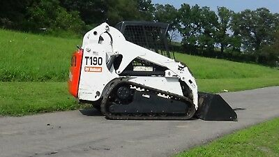 2006 BOBCAT T190 Track Skid Steer With Keyless Start