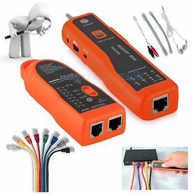 Cable Tester Tracker Phone Line LAN Network Finder RJ11 RJ45 Wire Tracer Scan GV