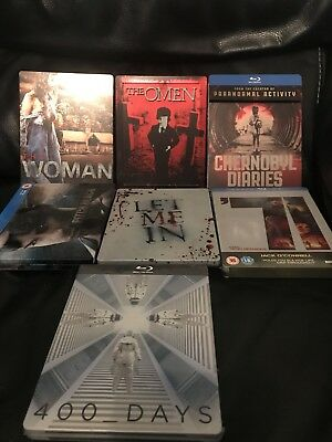 Steelbook Blu-Ray Bundle X7 Some Sealed Great Condition ! FREE SHIPPING