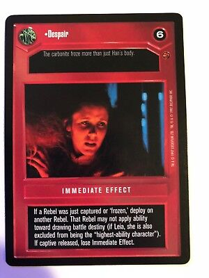Star Wars CCG Enhanced Cloud City This Deal Is Getting Worse All The Time NM-MT