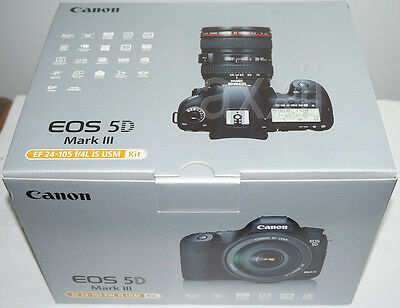 New Canon EOS 5D Mark 3 III 22.3 MP Digital SLR Camera Body Only Full Frame New