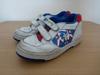 bdccb55e4172 Sonic the Hedgehog Trainers SIZE 11 1 2 Clarks 1990s Sneakers Shoes SEGA  Vintage