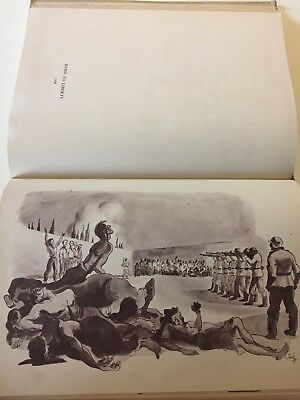 1946 Greece Large Book By Phokion Demetriades Ww2 German Resistance Signed
