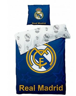 Housse de couette Real Madrid -Real Madrid, Parure de Lit Real Madrid
