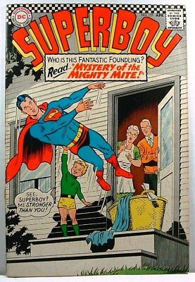 "DC Comics: SUPERBOY #137 G+ (1967) ""Mystery of the Mighty Mite!"""