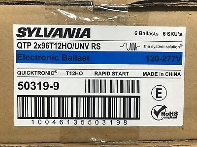 Sylvania (QTP 2x96T12HO/UNV RS) Electronic Ballast ** New, Free Shipping **