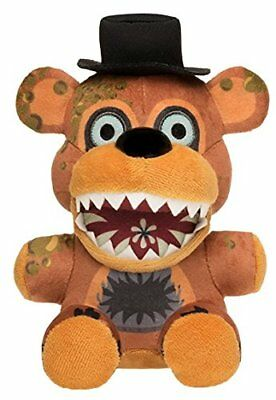 "New Authentic Five Nights At Freddy's Twisted One Fazbear 8"" Plush Stuffed FNAF"