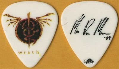 Lamb of God Mark Morton authentic 2009 Wrath concert tour signature Guitar Pick