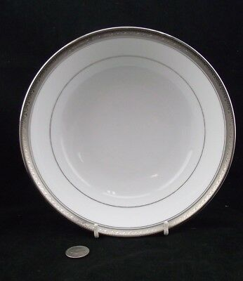 "Noritake Legendary Crestwood Platinum 9"" Round Vegetable Serving Bowl"