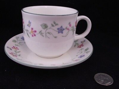 Royal Doulton Tea Or Coffee  Cup And Saucer Expressions Florentina