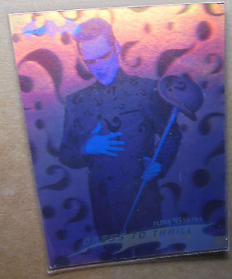Batman Forever:1995-Movie- Fleer Ultra - Hologram Card [26 of 36]