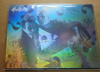 Batman Forever:1995-Movie- Fleer Ultra - Hologram Card [33 of 36]