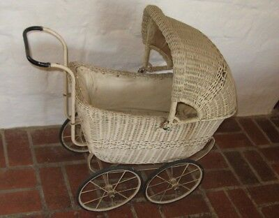 Dainty little antique dolls' pram - any reasonable offer accepted from collector