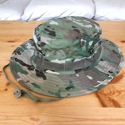 Multicam Boonie Hat US Army Woodland BDU Jungle Sun Cap Military 1 Size Fits All