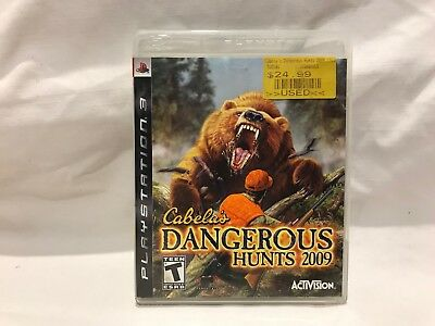 Cabela's Dangerous Hunts 2009 (Sony PlayStation 3, 2008) Missing Manual