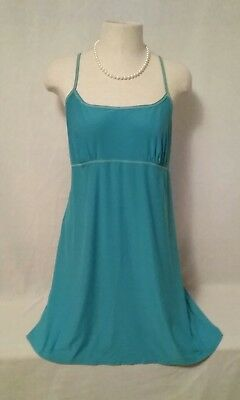 Vintage~SECRET TREASURES~TEAL~LACE~SUMMER~SHORT-NIGHT GOWN~MEDIUM~L@@K SEXY!!!!!
