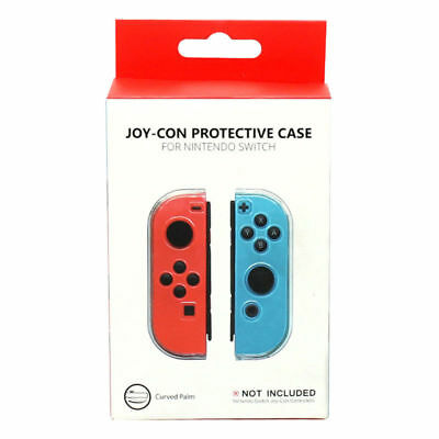 Gamewill Joy-Con Protective Case Nintendo Switch Console Clear Cover Shockproof