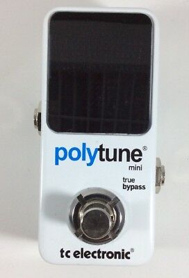 TC Electronic PolyTune Mini Polyphonic Tuning Pedal (GOOD CONDITION)