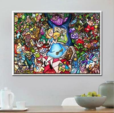 AU Color Girl Full Drill 5D Diamond Embroidery Painting Cross Stitch Kit  HN
