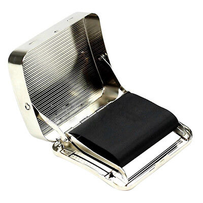 70mm Stainless Steel Automatic Cigarette Tobacco Roll Machine Roller Box USA