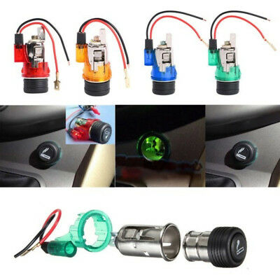 Universal12V 120W Motor Boat Car Cigarette Lighter Power Socket Outlet Plug US