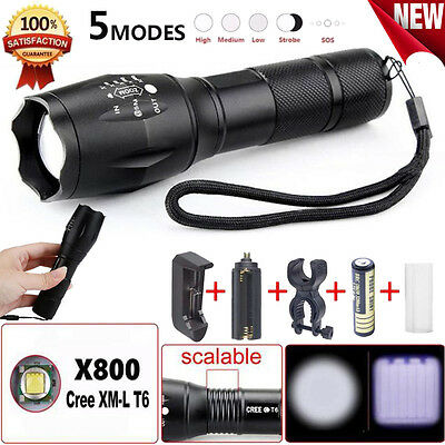 Cree q5 LED Tactical Flashlight 1200lm High Power Torch AAA lamp bright light y5