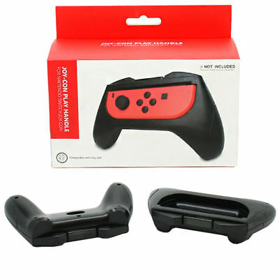 Gamewill Switch Game Handle Black Comfort Nintendo Controller Kit Game  2 Pack