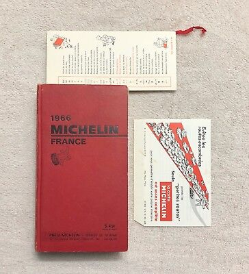 Michelin Guide France 1966