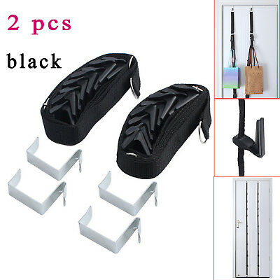 2X Baseball Cap Rack Hat Holder Adjust Home Organizer Storage Door Closet Hanger