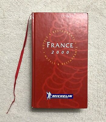 Michelin Guide France 2000. Number 3,614 Out Of 880,254 Produced.