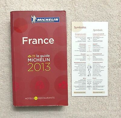 Michelin Guide France 2013